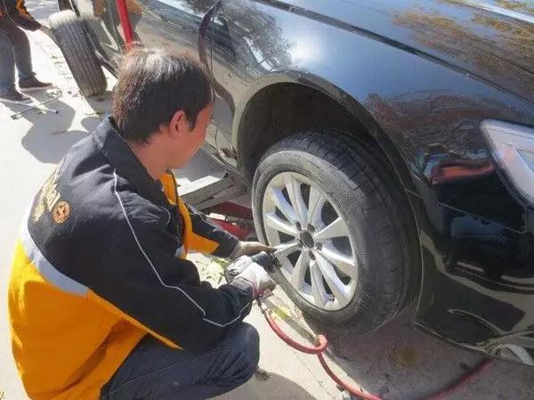 汽车修理店加盟|轮胎跑慢气是被扎破?92%的人不知道其它原因