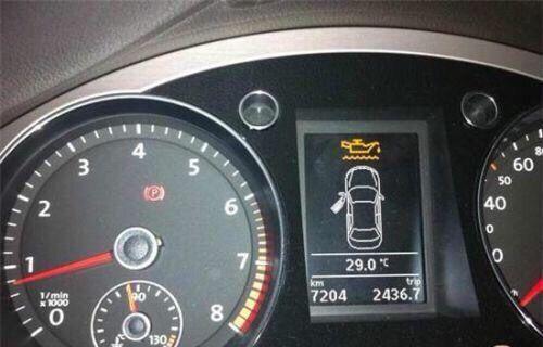 3,行车电脑显示机油/机油尺检测出机油消耗过快
